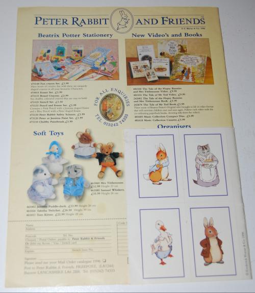Peter rabbit & friends magazine x