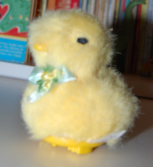 Easter chick toy