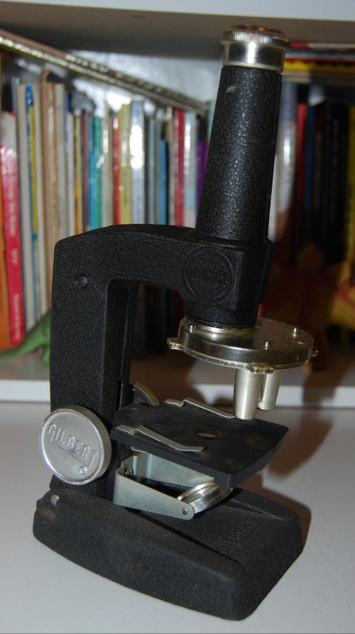 Vintage gilbert microscope 3