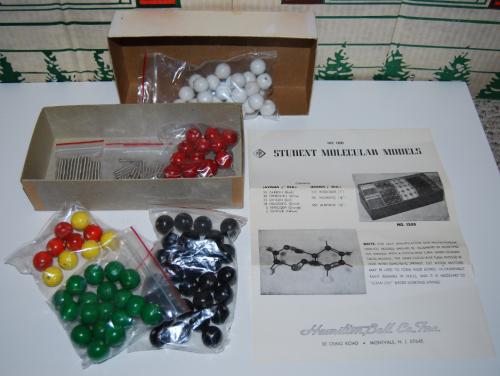 Hamilton bell student molecular models