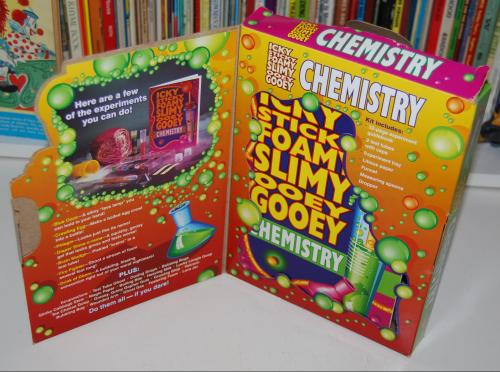 25 yucky chemistry experiments set 1