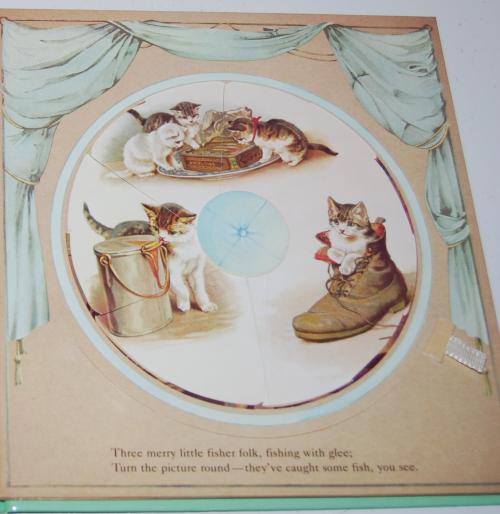 Magic windows revolving picture book 4