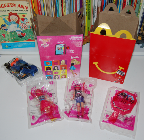 Barbie happy meal toy 2017 3
