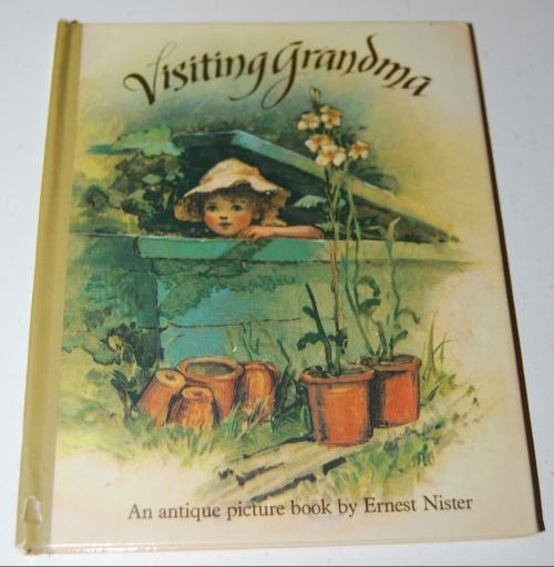 Visiting grandma antique book