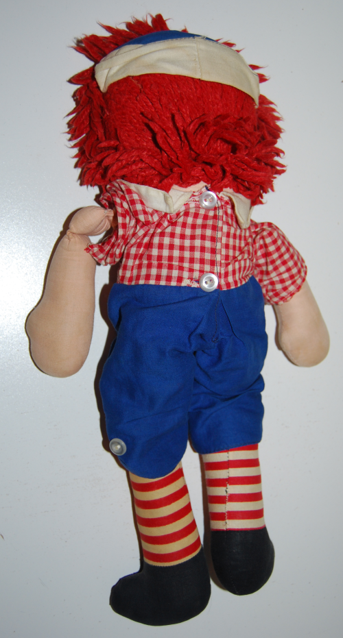 Vintage raggedy andy doll 1