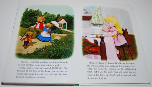 Goldilocks puppet storybook 3