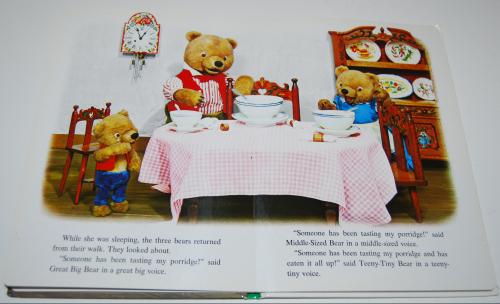 Goldilocks puppet storybook 5