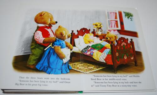 Goldilocks puppet storybook 6