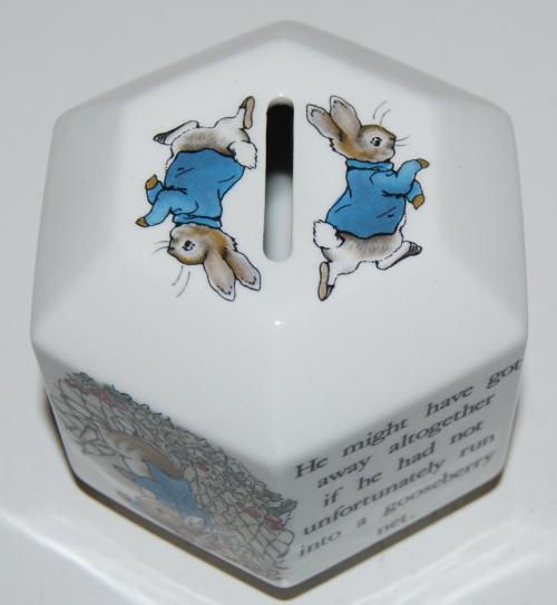 Beatrix potter ceramic