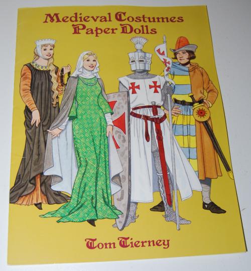 Medieval costumes paperdolls