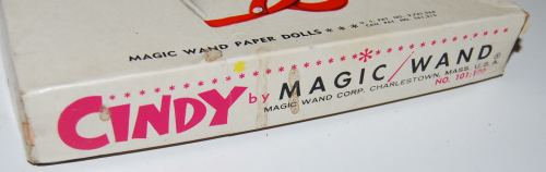 Magic wand cindy paper doll 7