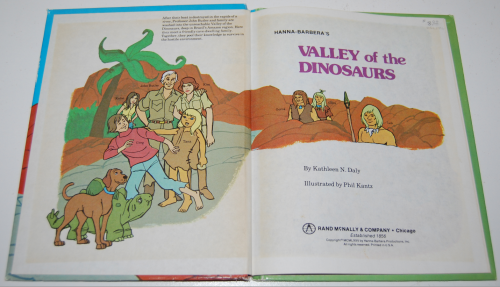 Valley of the dinosaurs 1