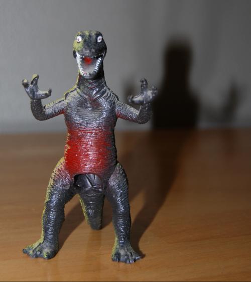 Lizardman finger puppet