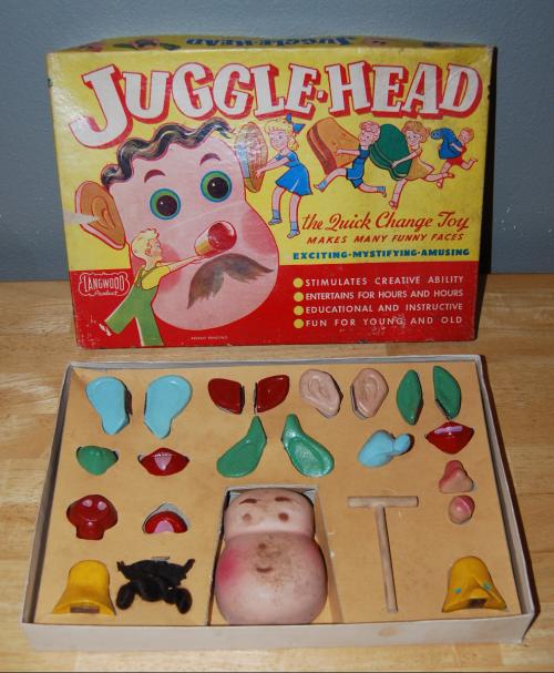 Jugglehead vintage toy