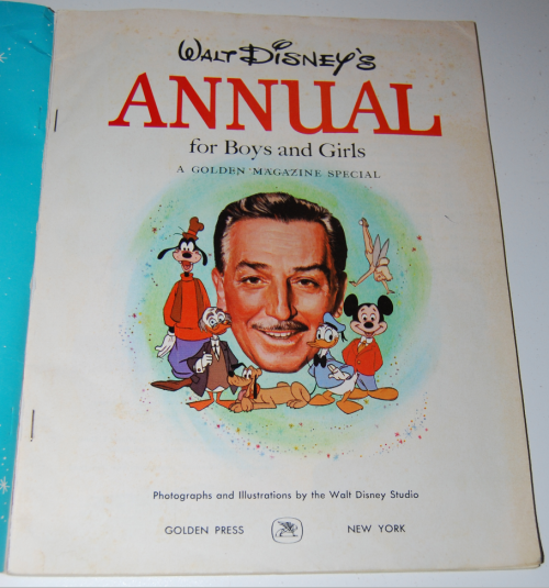 Walt disney's annual golden magazine special 1