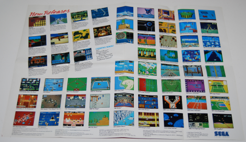 Vintage sega game system ad xx