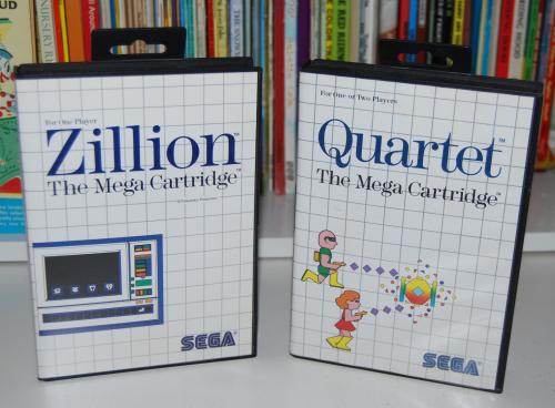 Vintage sega master system games