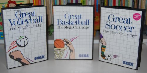 Vintage sega master system games 4