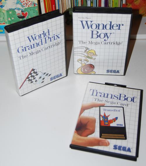 Vintage sega master system games 5