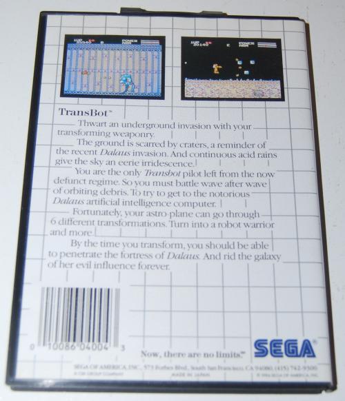 Vintage sega master system games 7
