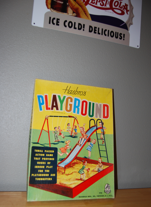 Hasbro's playground game x