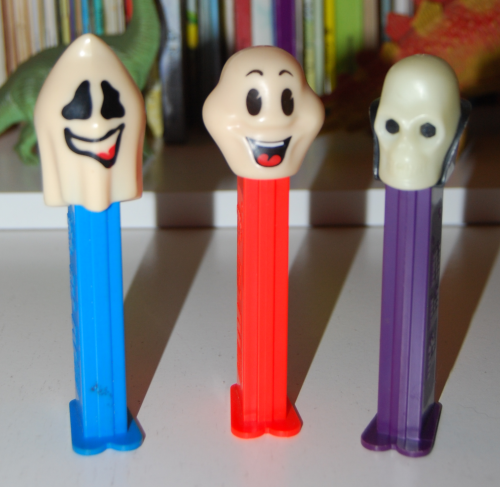 Ghost pez dispensers