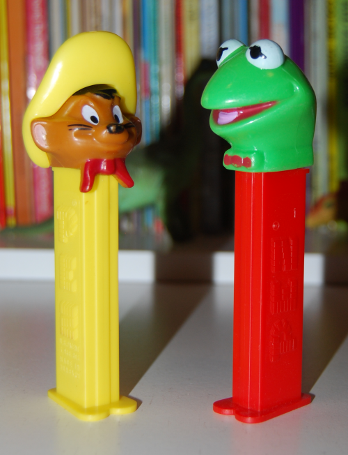 Vintage pez dispensers