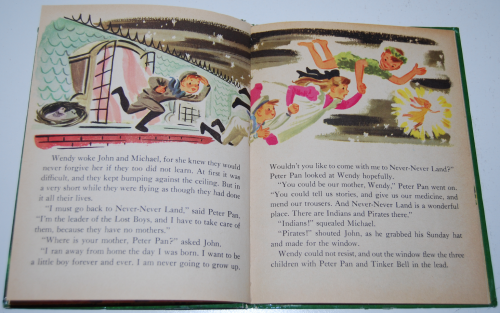 Peter pan wonder book 4