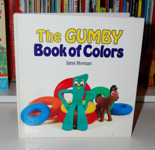 book month ~ gumby book of colors - lost & found vintage toys