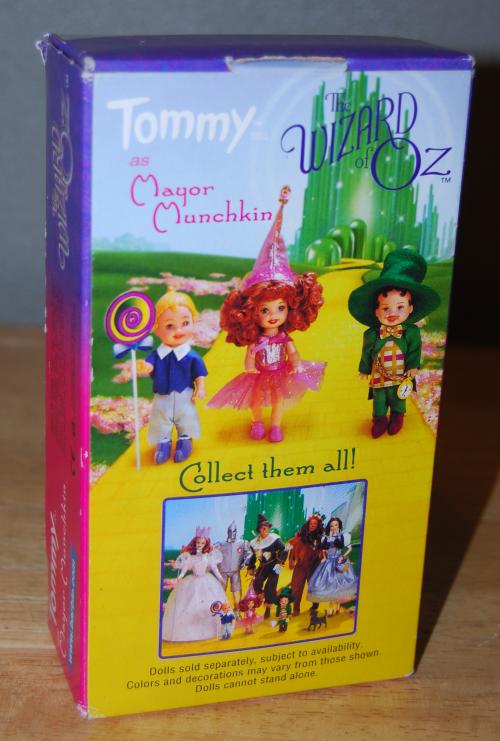 Tommy doll mayor munchkin x