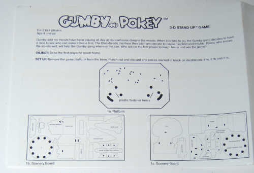Gumby & pokey 3d stand up game 12