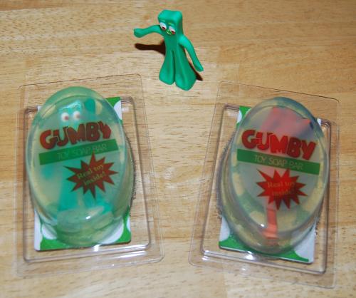 Gumby & pokey soap