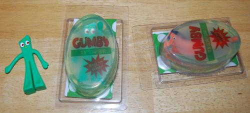 Gumby & pokey soap 1