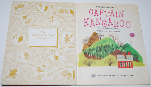 Little golden book captain kangaroo 1