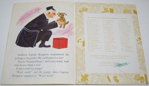 Little golden book captain kangaroo 7