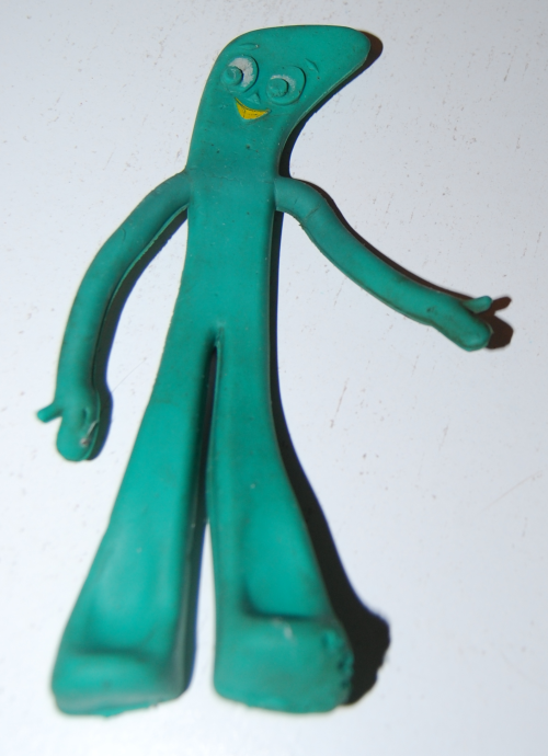Vintage lakeside gumby bendy 1965 x