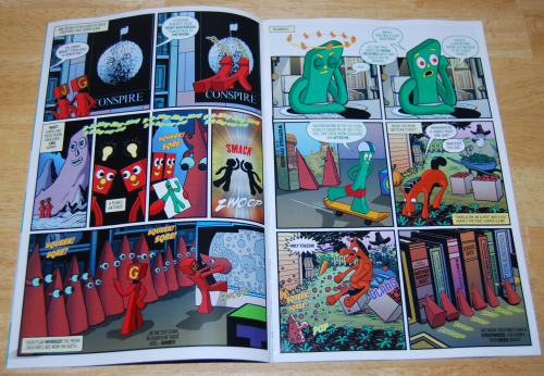 Gumby comic book 1 2017 2
