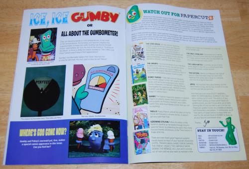 Gumby comic book 1 2017 5
