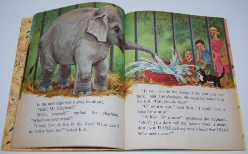 Little golden book who needs a cat 6