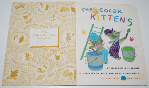 Little golden book the color kittens 1