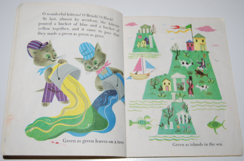 Little golden book the color kittens 10