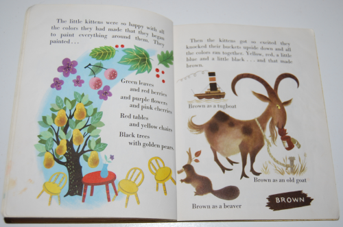 Little golden book the color kittens 11