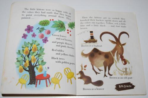 Little golden book the color kittens 11