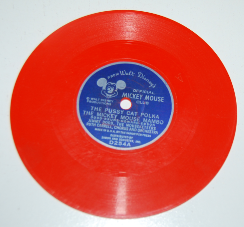 Mickey mouse club record x