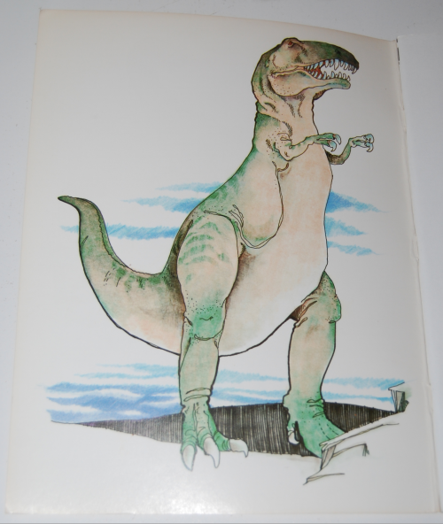 Dover dinosaur coloring book 1