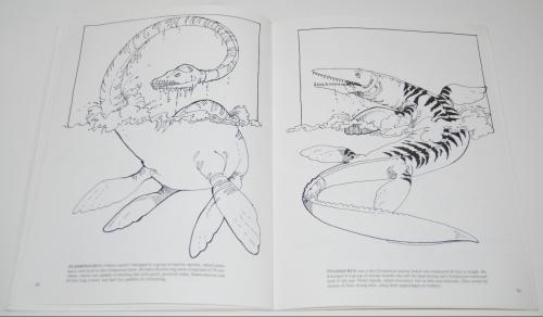 Dover dinosaur coloring book 10