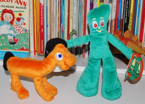 Gumby & pokey beanies x