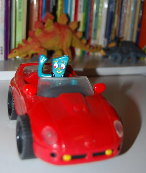 Gumby bump'n go car 4