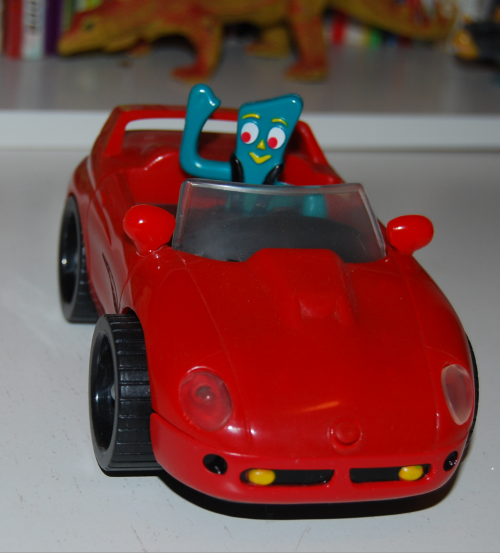 Gumby bump'n go car 5