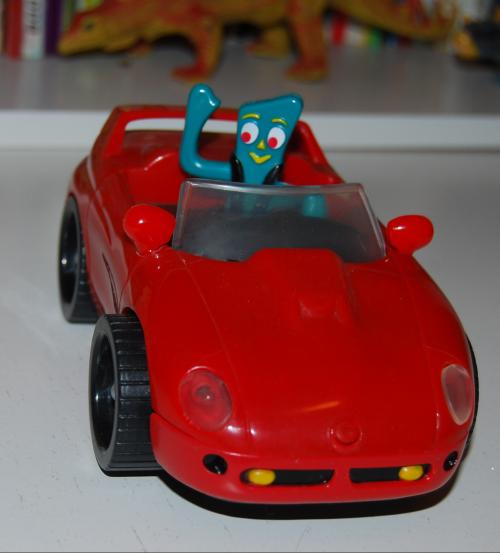 Gumby bump'n go car 5